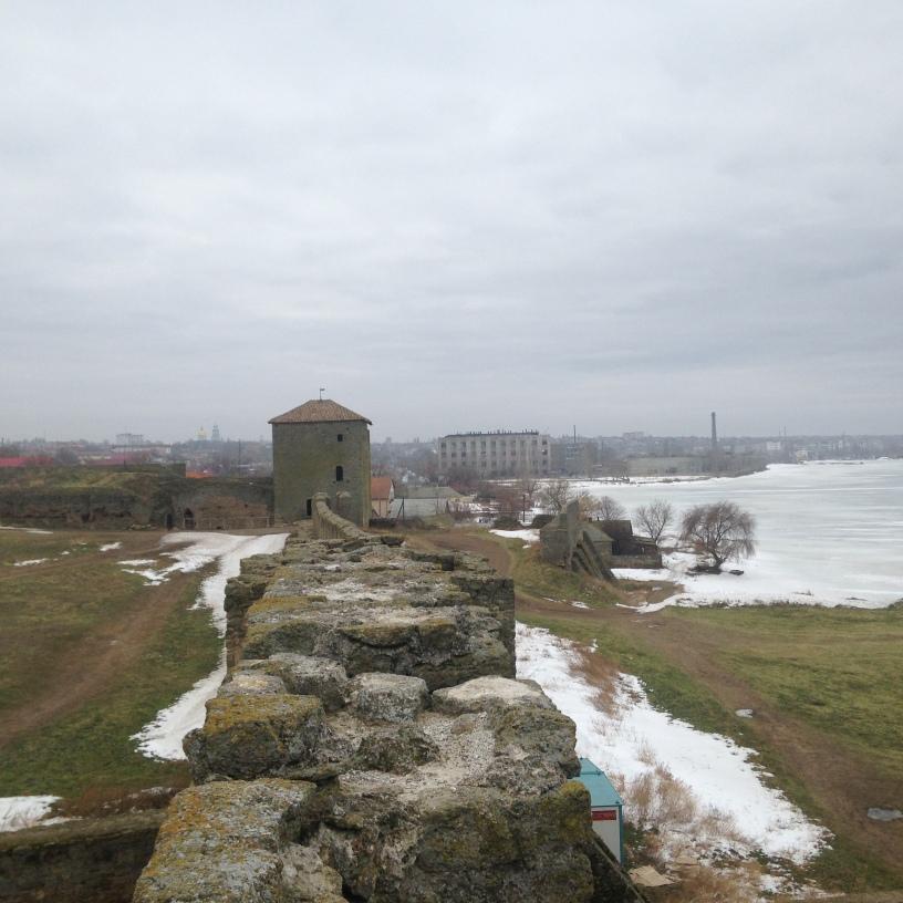 Akkerman Fortress 1 week after the January Blizard