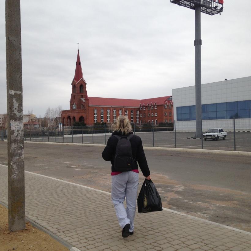 bilhorod walk to orphanage
